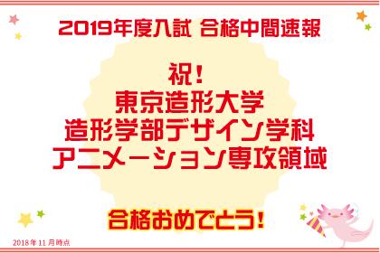 2019年度入試合格中間速報(AO・推薦入試)
